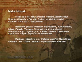 Rafał Nowak www.rafalnowak.art.pl