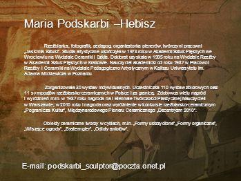 Maria Podskarbi –Hebisz