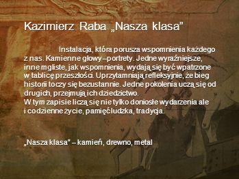 "Kazimierz Raba ""Nasza klasa"