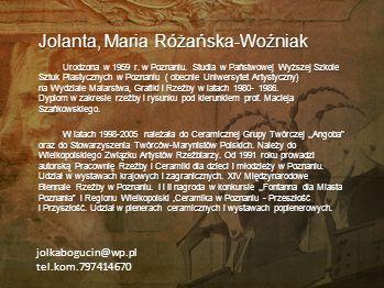 Jolanta, Maria Różańska-Woźniak