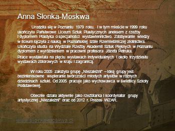 Anna Słonka-Moskwa www.slonka-moskwa.pl