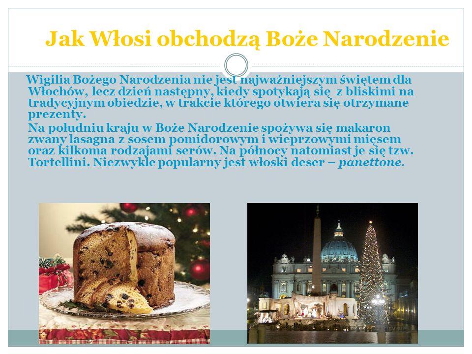 Jak Włosi obchodzą Boże Narodzenie