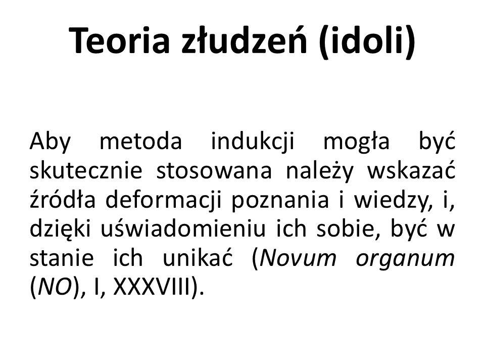 Teoria złudzeń (idoli)