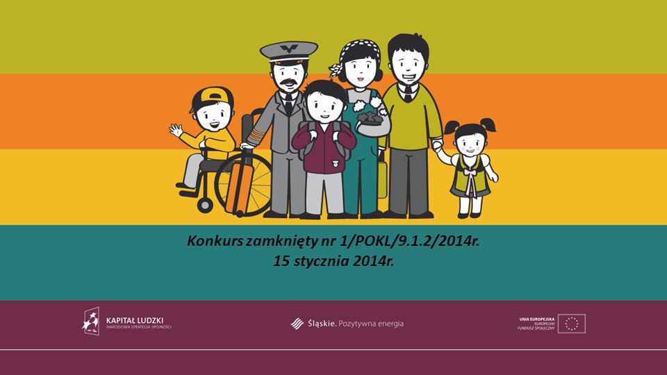 Konkurs zamknięty nr 1/POKL/9.1.2/2014r.