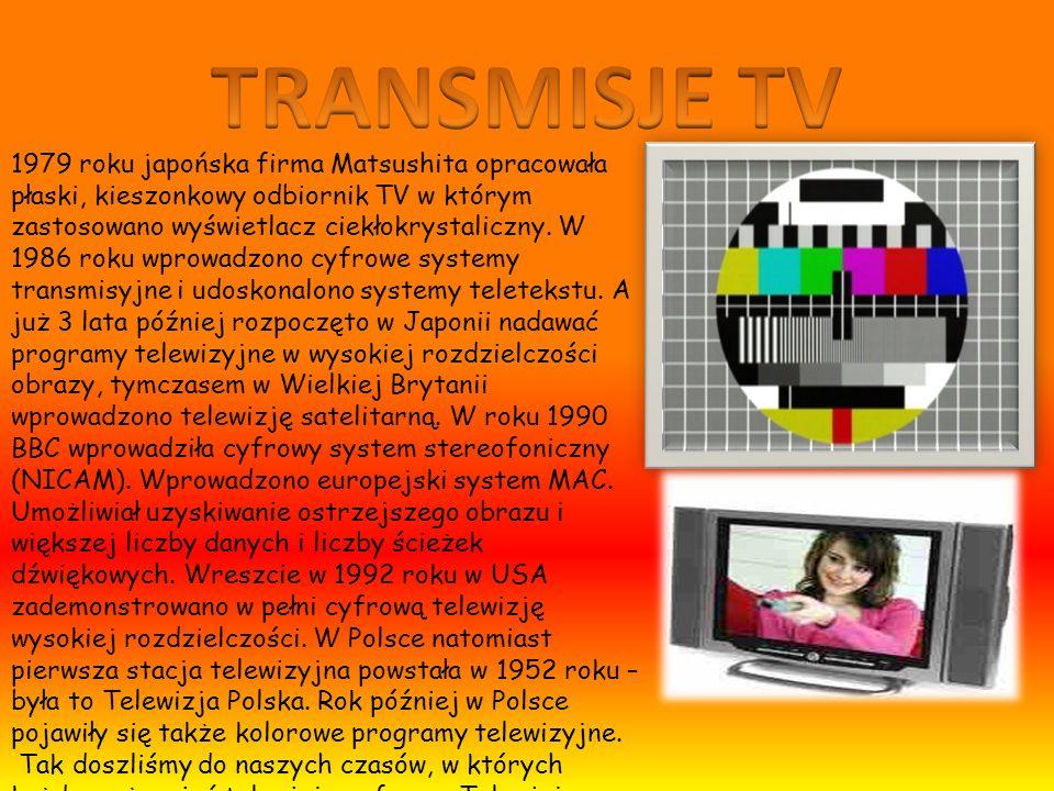 TRANSMISJE TV