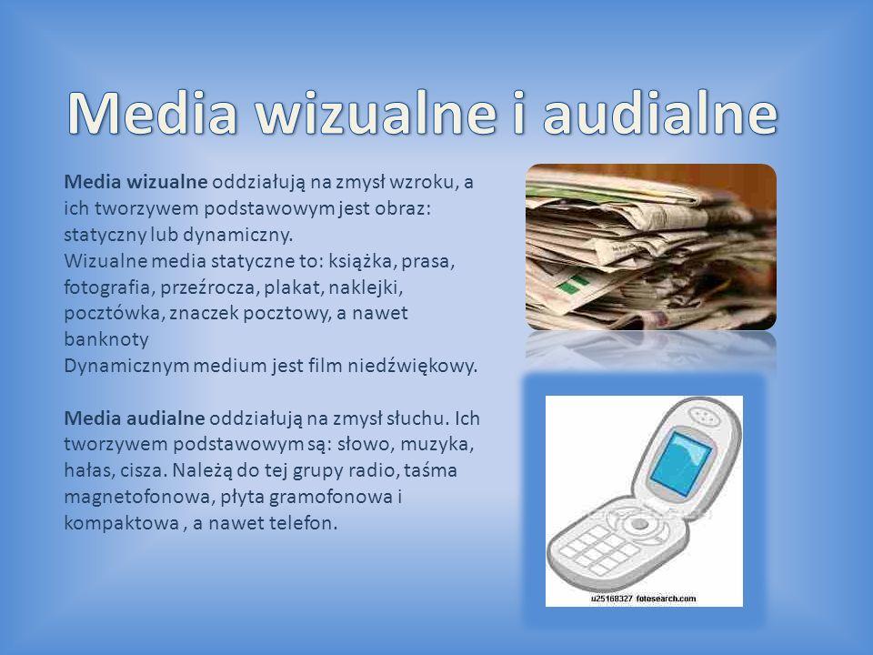 Media wizualne i audialne