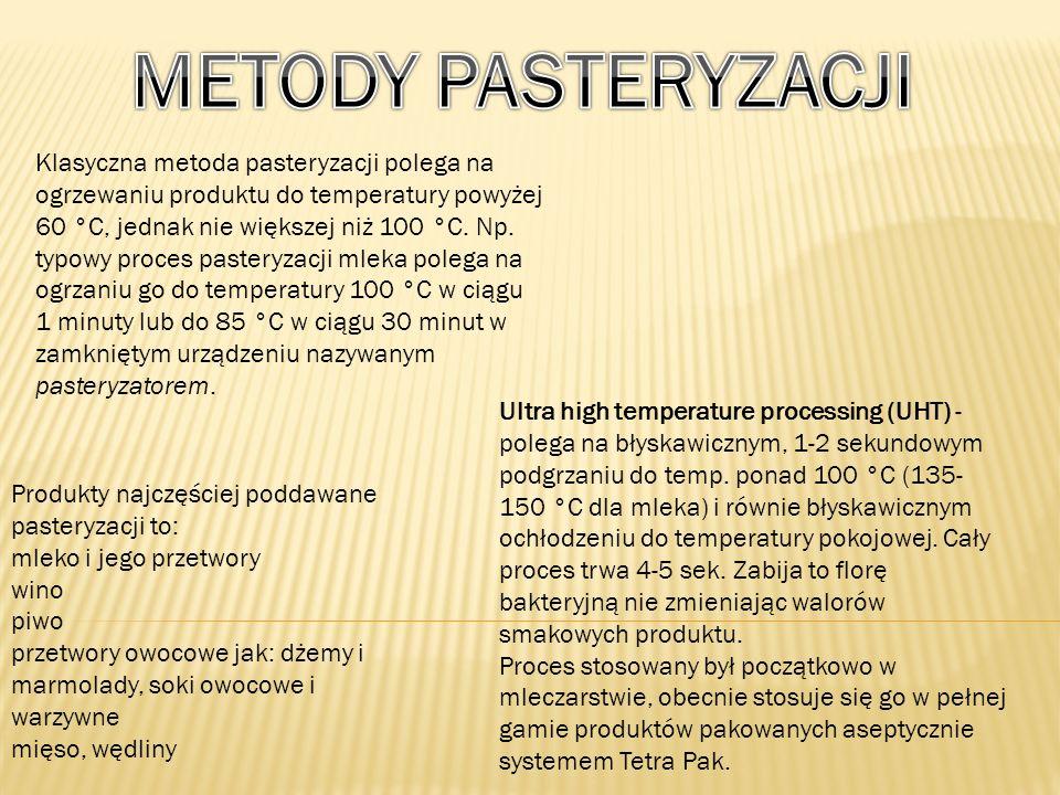 METODY PASTERYZACJI
