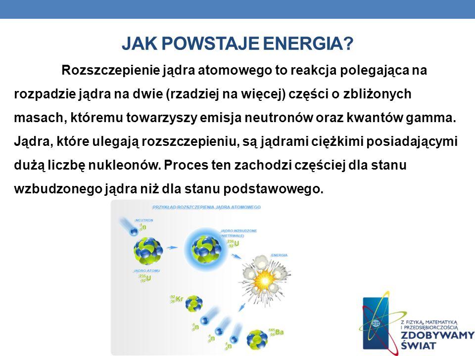 Jak powstaje energia