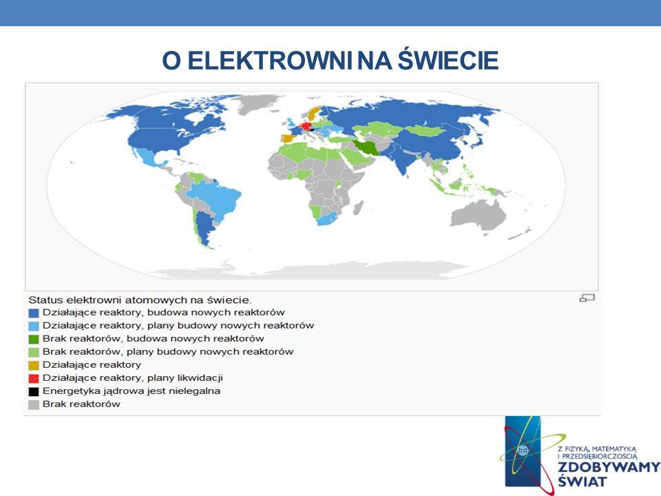 O elektrowni na świecie