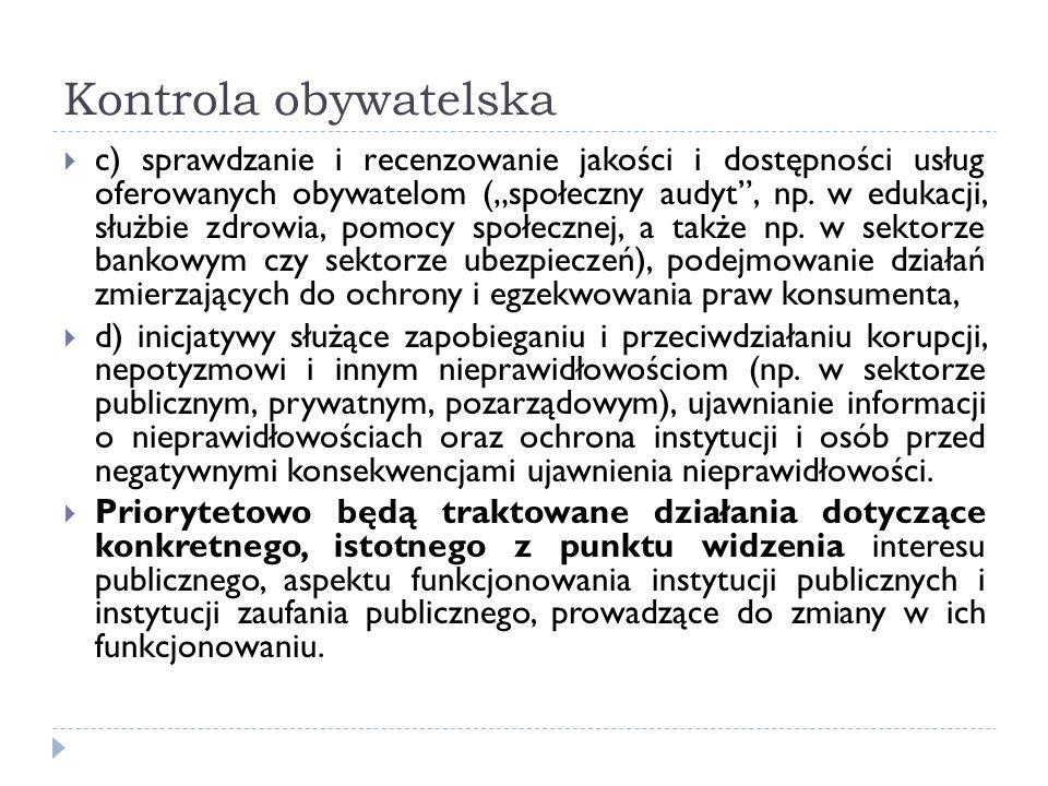 Kontrola obywatelska