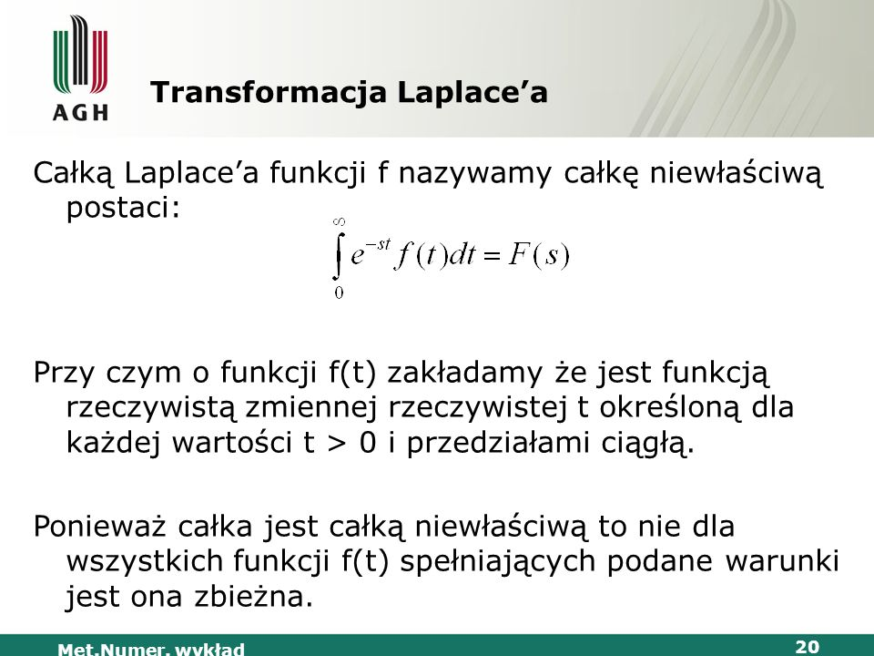 Transformacja Laplace'a