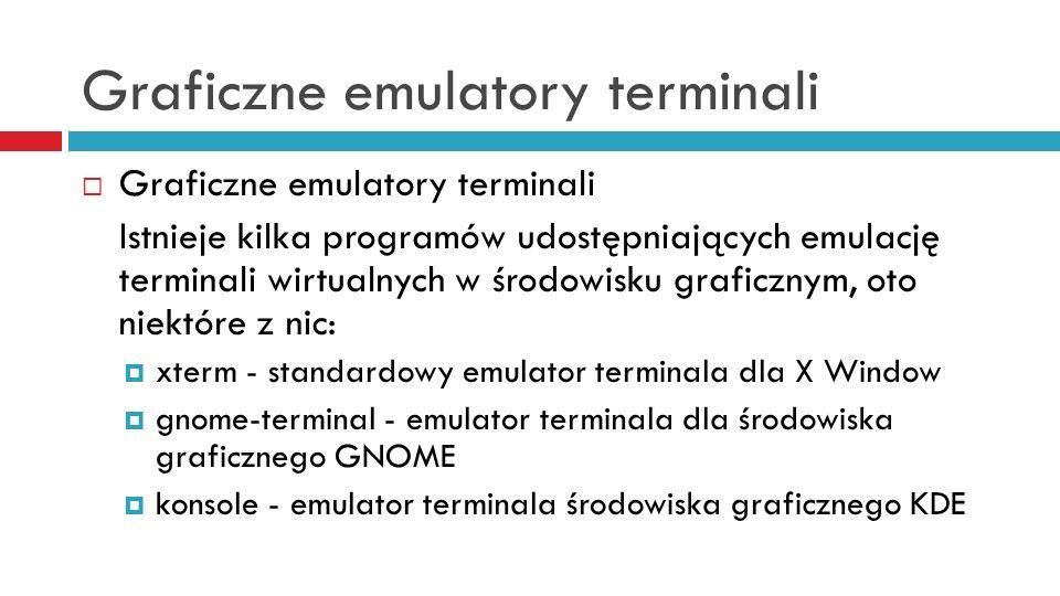 Graficzne emulatory terminali
