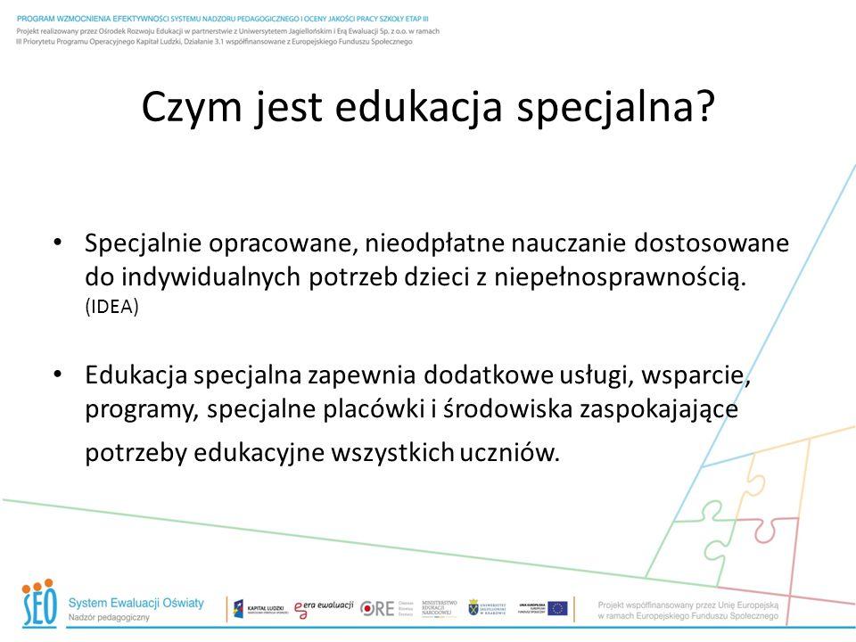 Czym jest edukacja specjalna