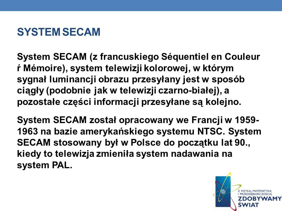 System SECAM