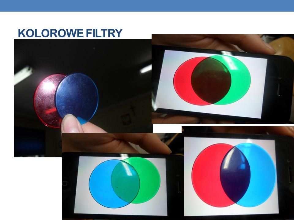 Kolorowe filtry