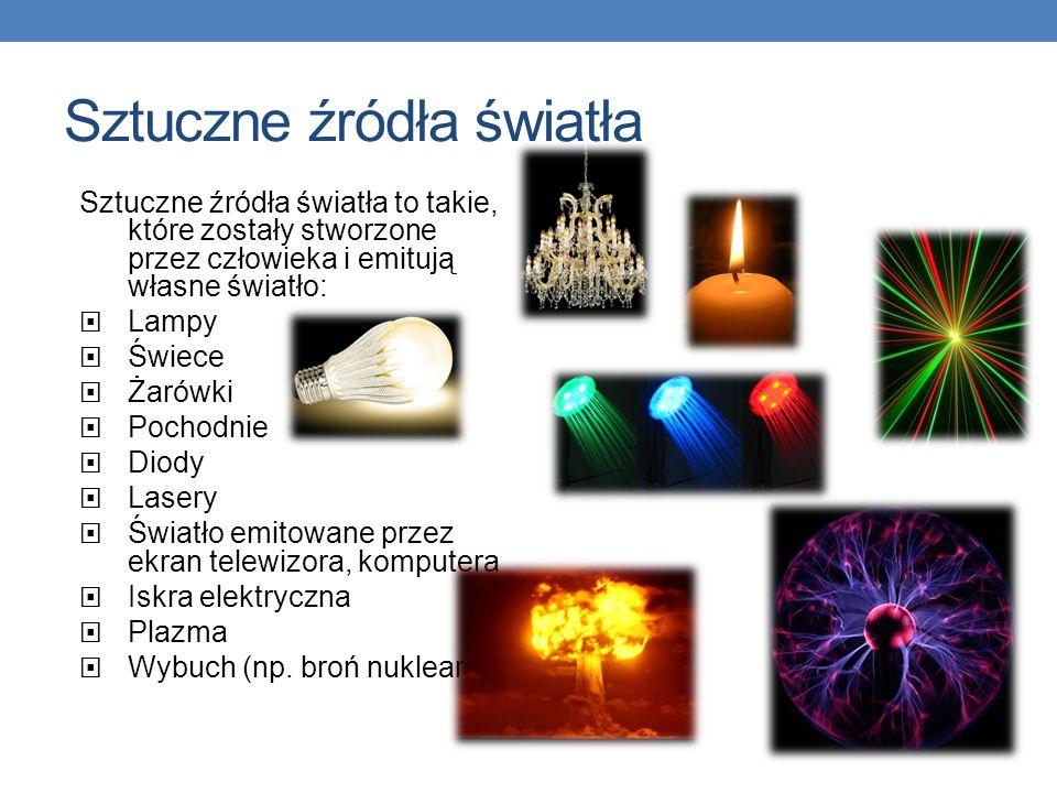 Sztuczne źródła światła