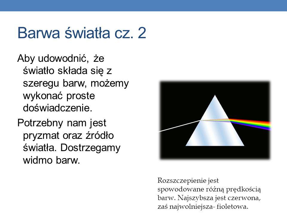 Barwa światła cz. 2