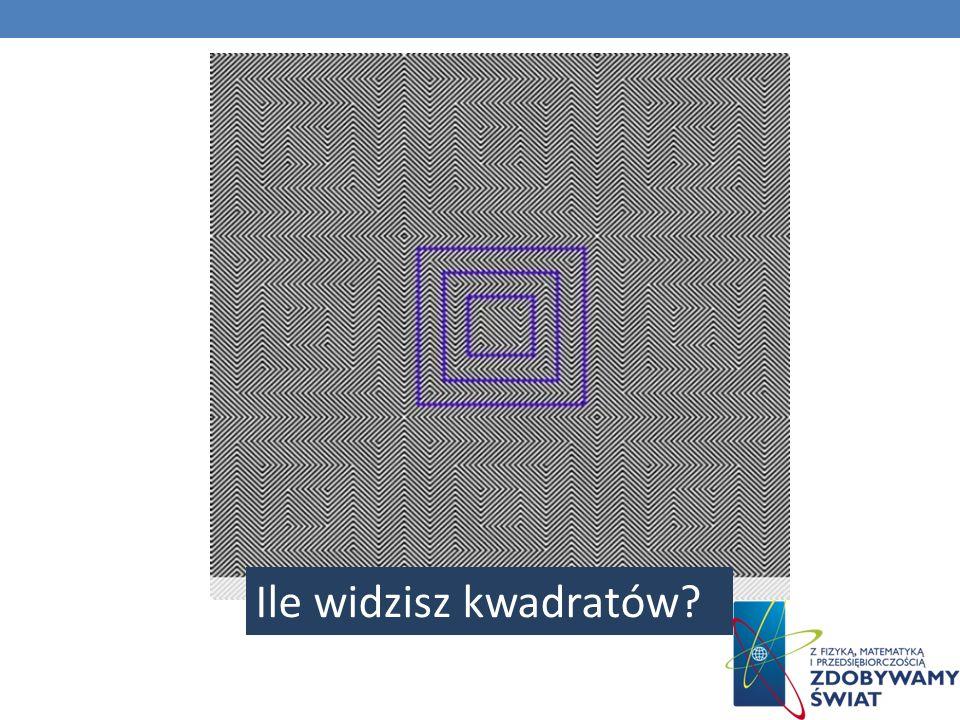 Ile widzisz kwadratów
