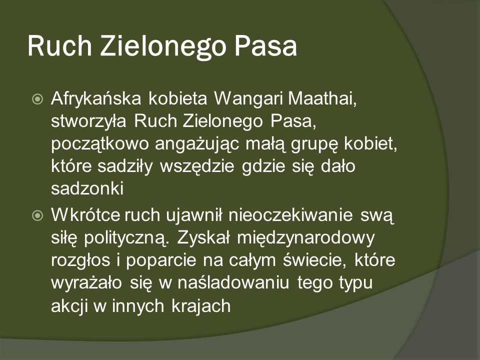 Ruch Zielonego Pasa