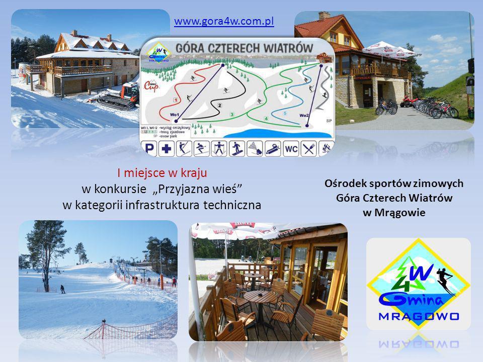 Ośrodek sportów zimowych Góra Czterech Wiatrów w Mrągowie