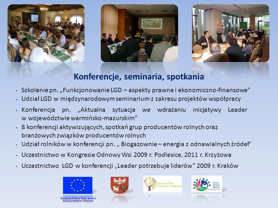 Konferencje, seminaria, spotkania Rozwoju Obszarów Wiejskich