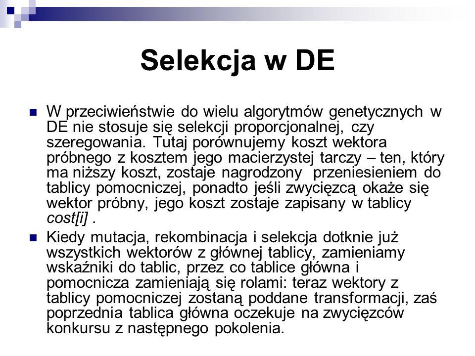 Selekcja w DE