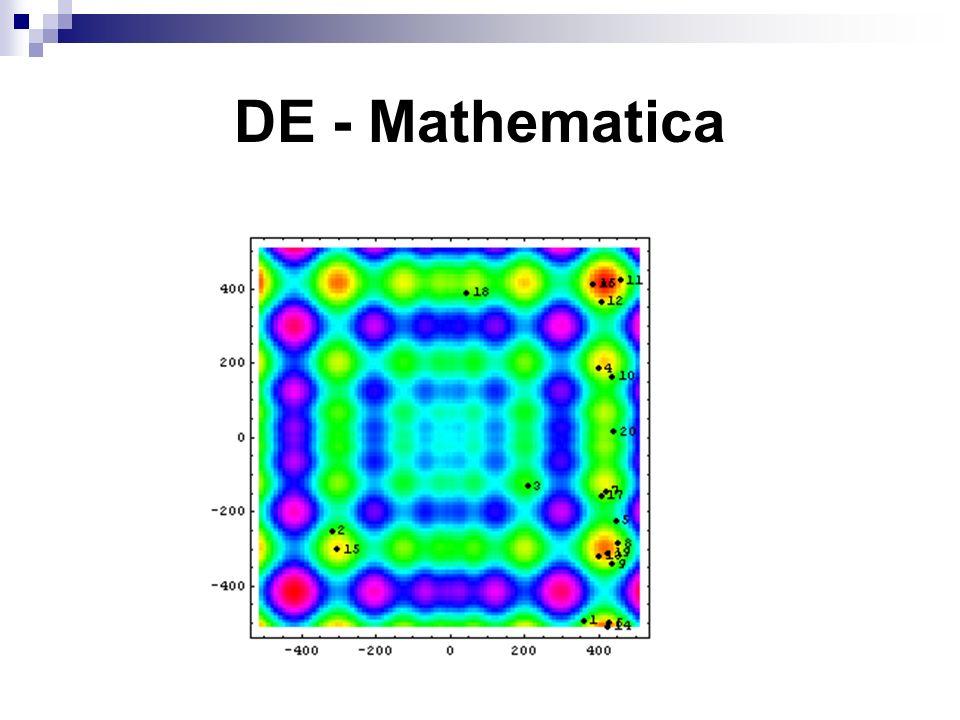 DE - Mathematica