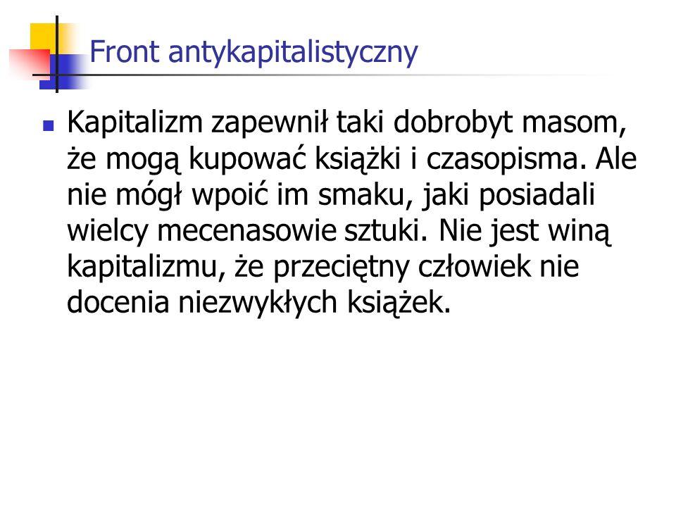 Front antykapitalistyczny