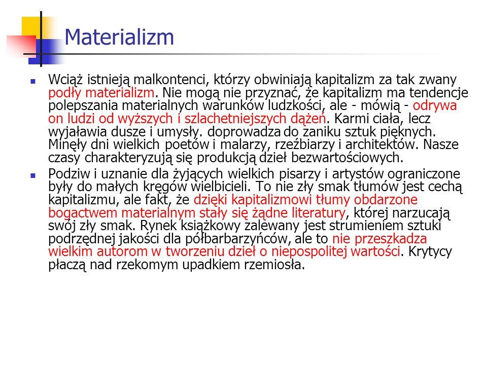 Materializm