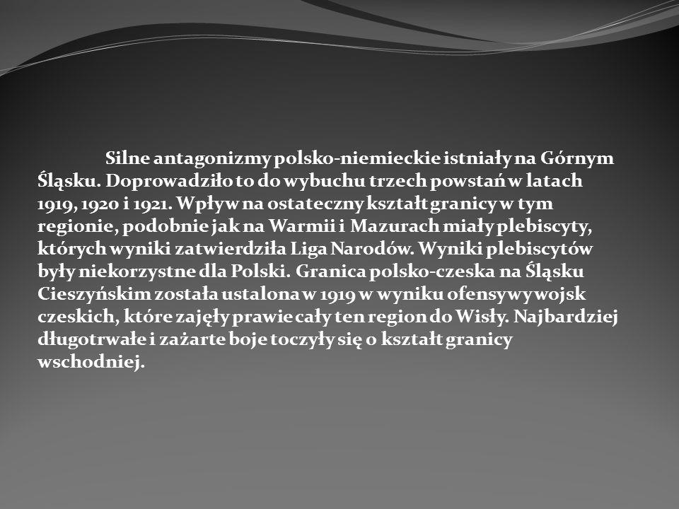 Silne antagonizmy polsko-niemieckie istniały na Górnym Śląsku