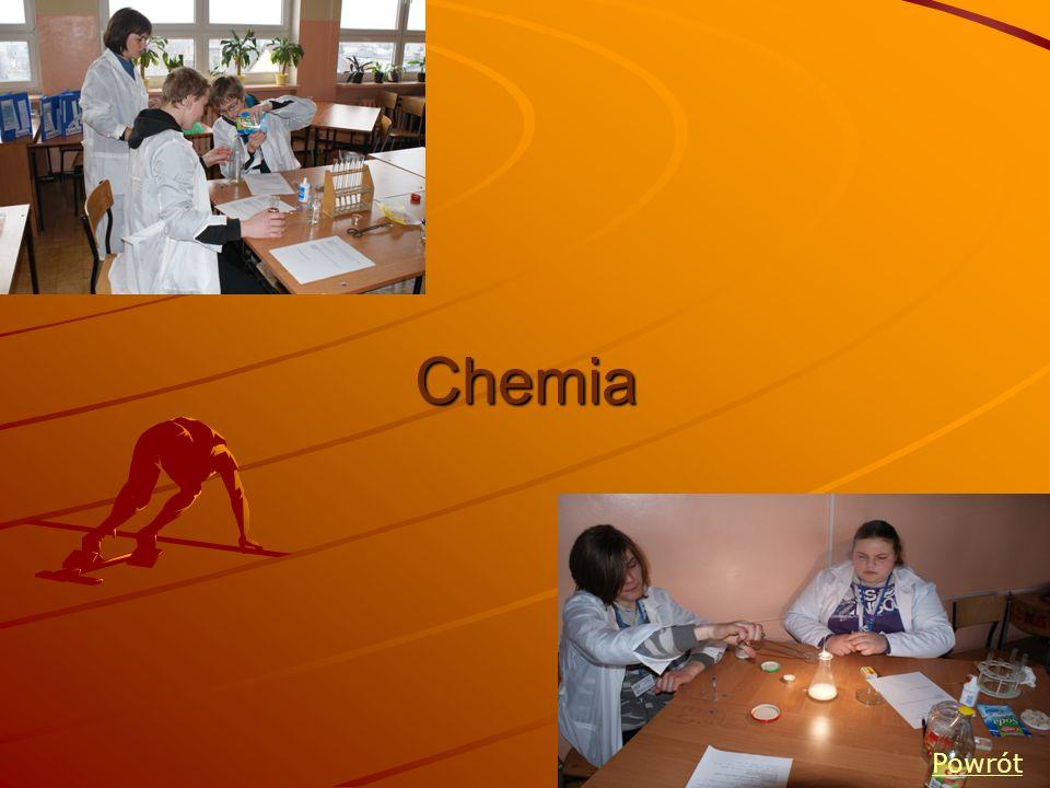 Chemia Powrót