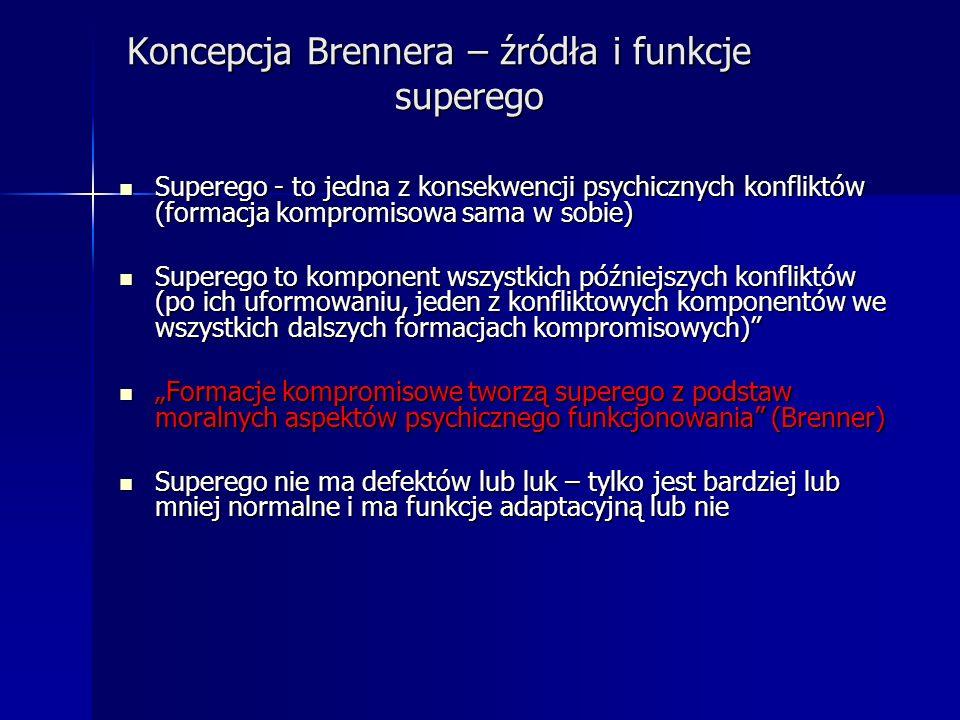 Koncepcja Brennera – źródła i funkcje superego