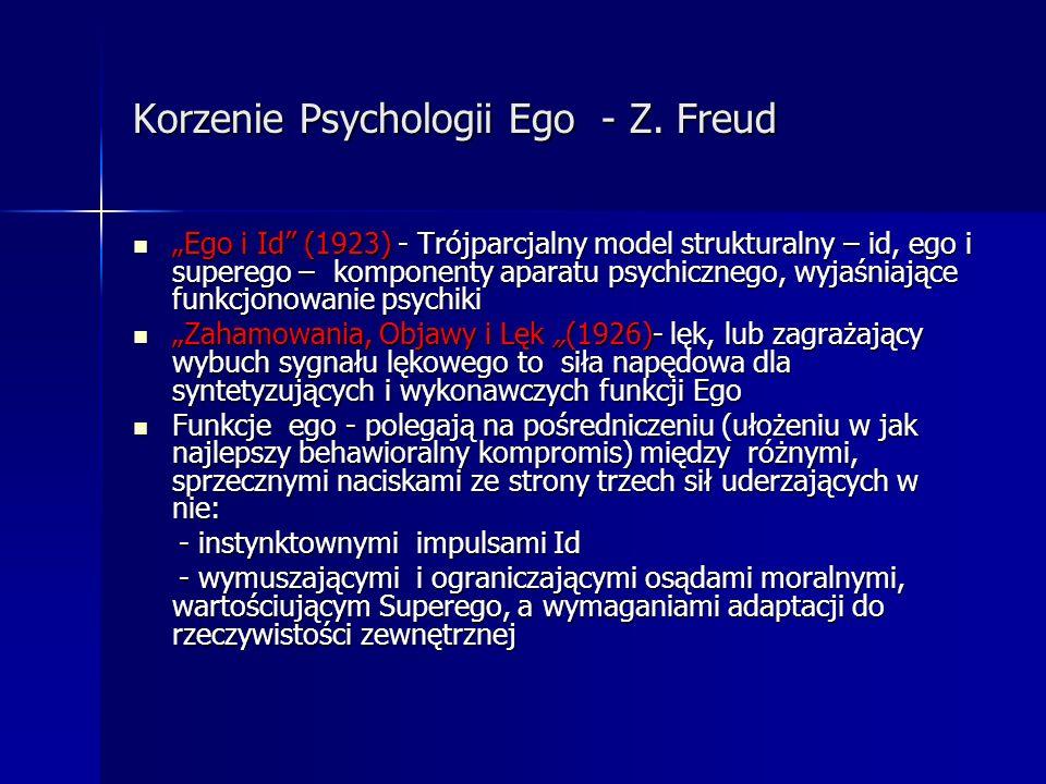 Korzenie Psychologii Ego - Z. Freud