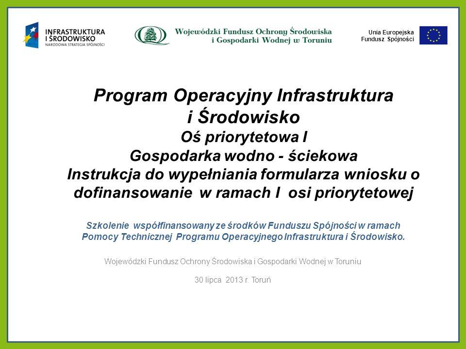 Wojewódzki Fundusz Ochrony Środowiska i Gospodarki Wodnej w Toruniu