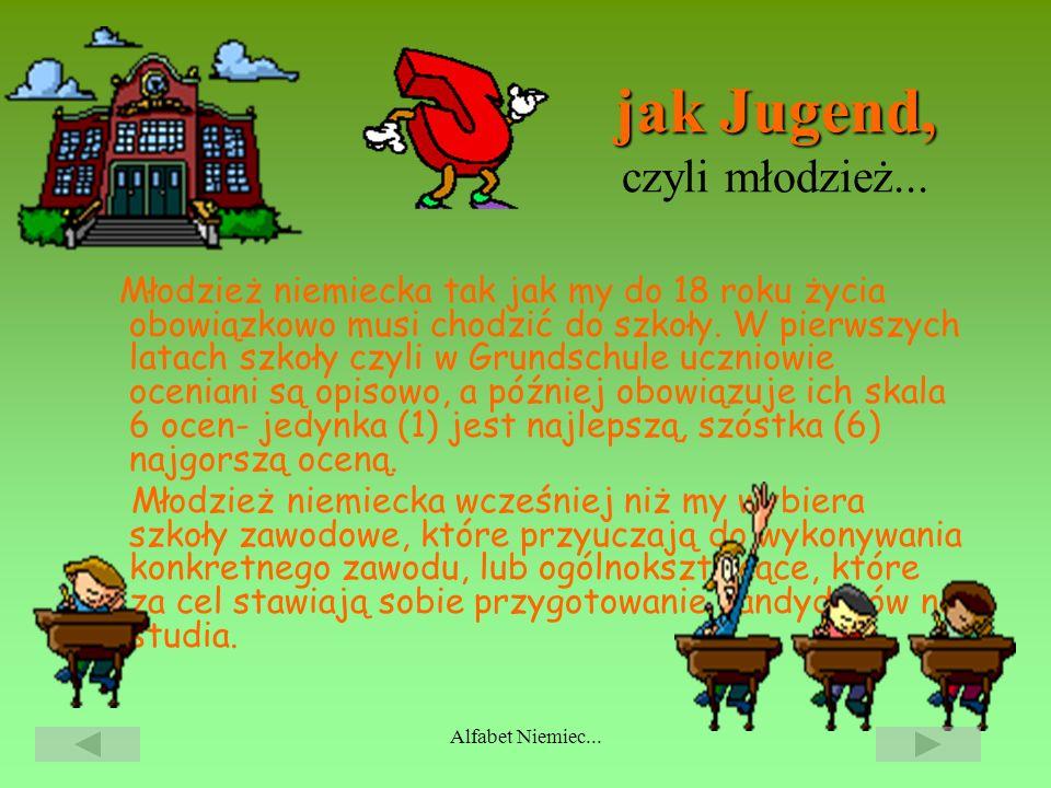 jak Jugend, czyli młodzież...