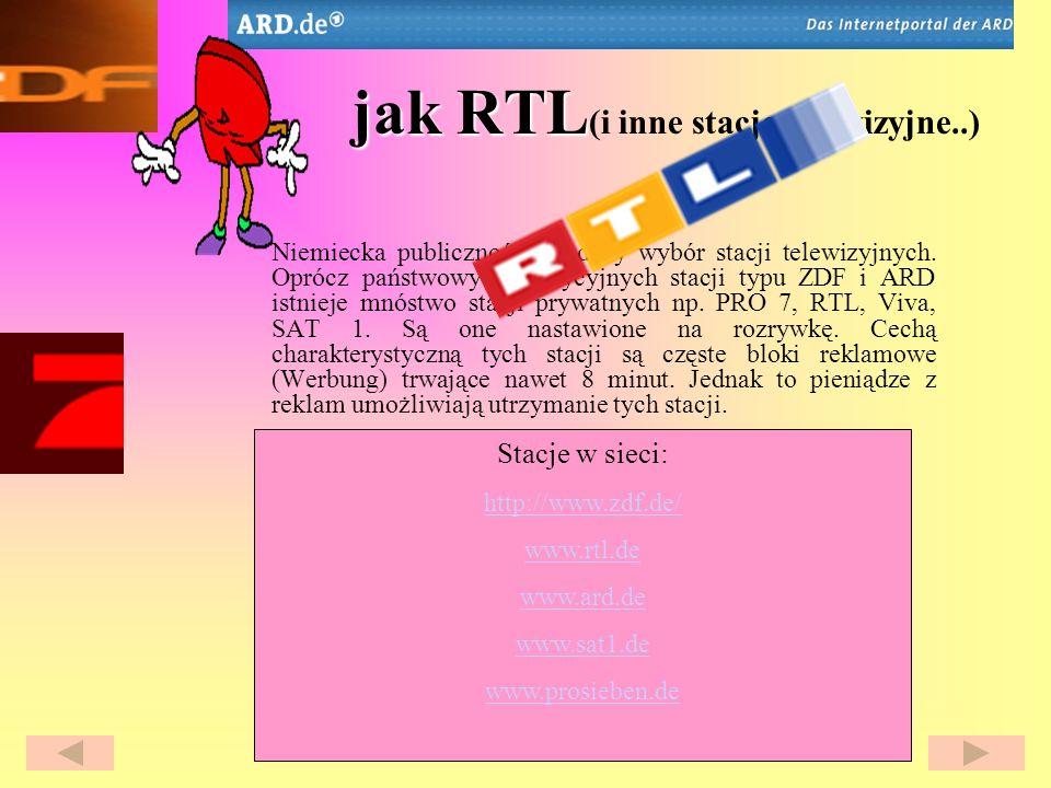jak RTL(i inne stacje telewizyjne..)