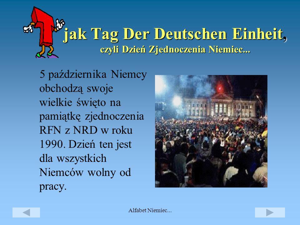 jak Tag Der Deutschen Einheit, czyli Dzień Zjednoczenia Niemiec...