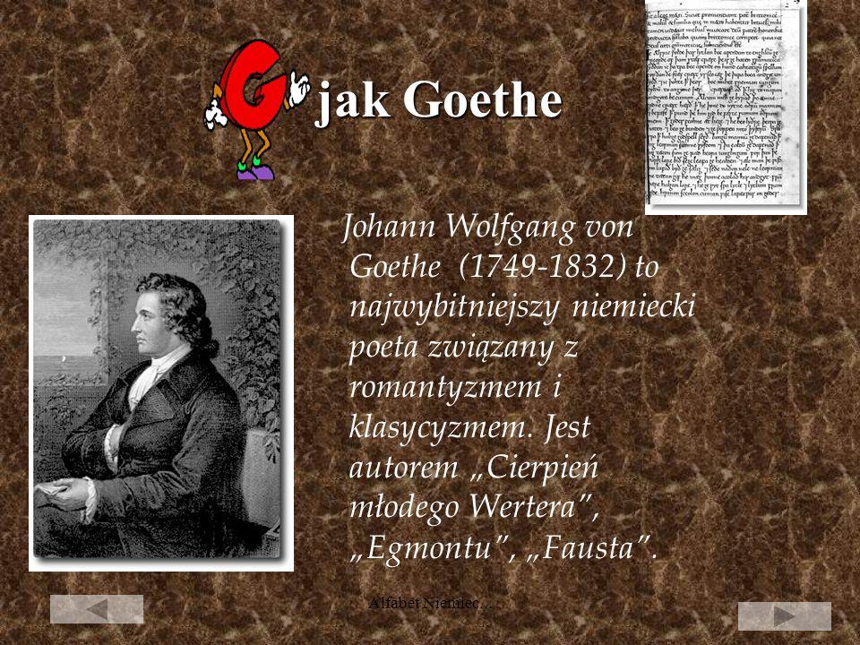 jak Goethe
