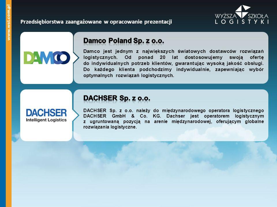 Damco Poland Sp. z o.o. DACHSER Sp. z o.o.