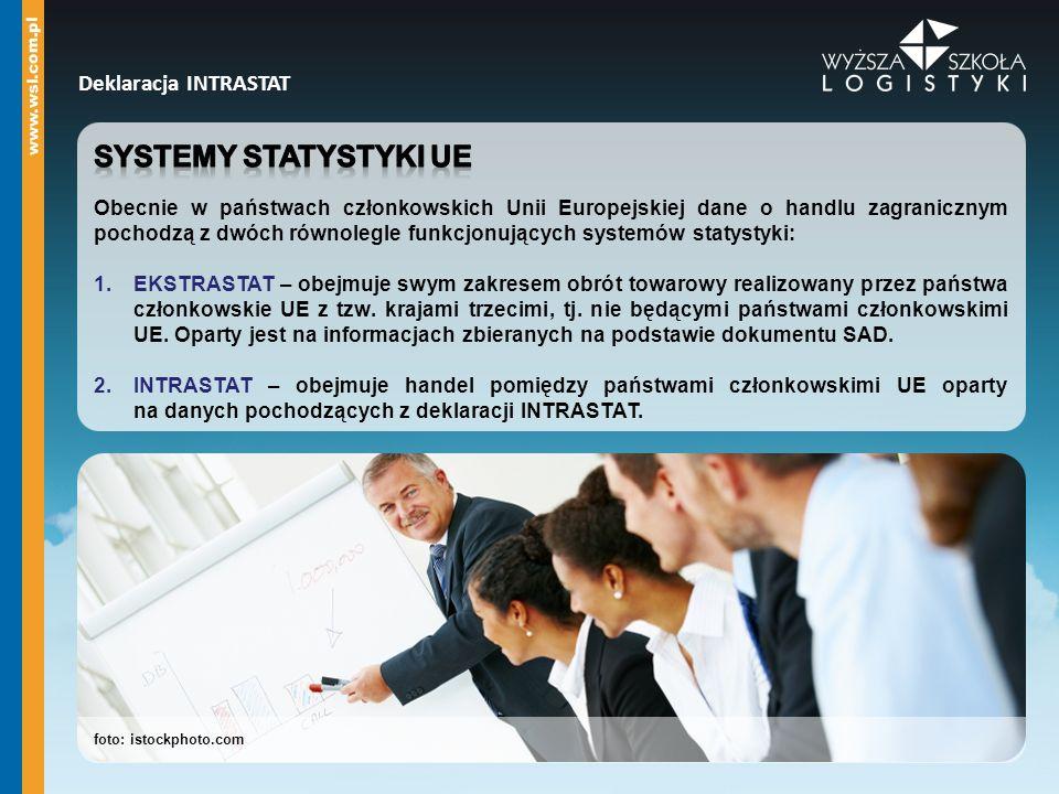 Systemy statystyki ue Deklaracja INTRASTAT
