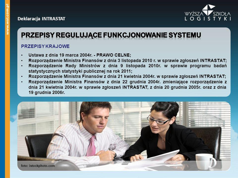 Przepisy regulujące funkcjonowanie systemu