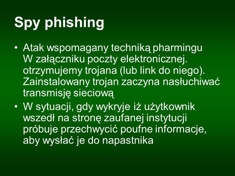 Spy phishing