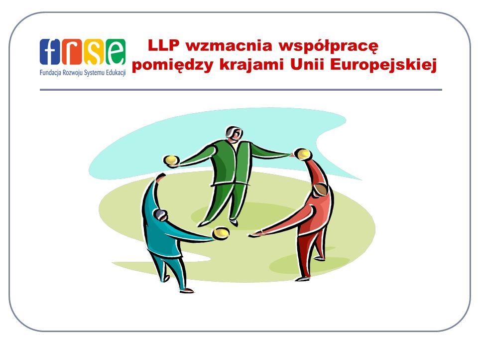LLP wzmacnia współpracę pomiędzy krajami Unii Europejskiej
