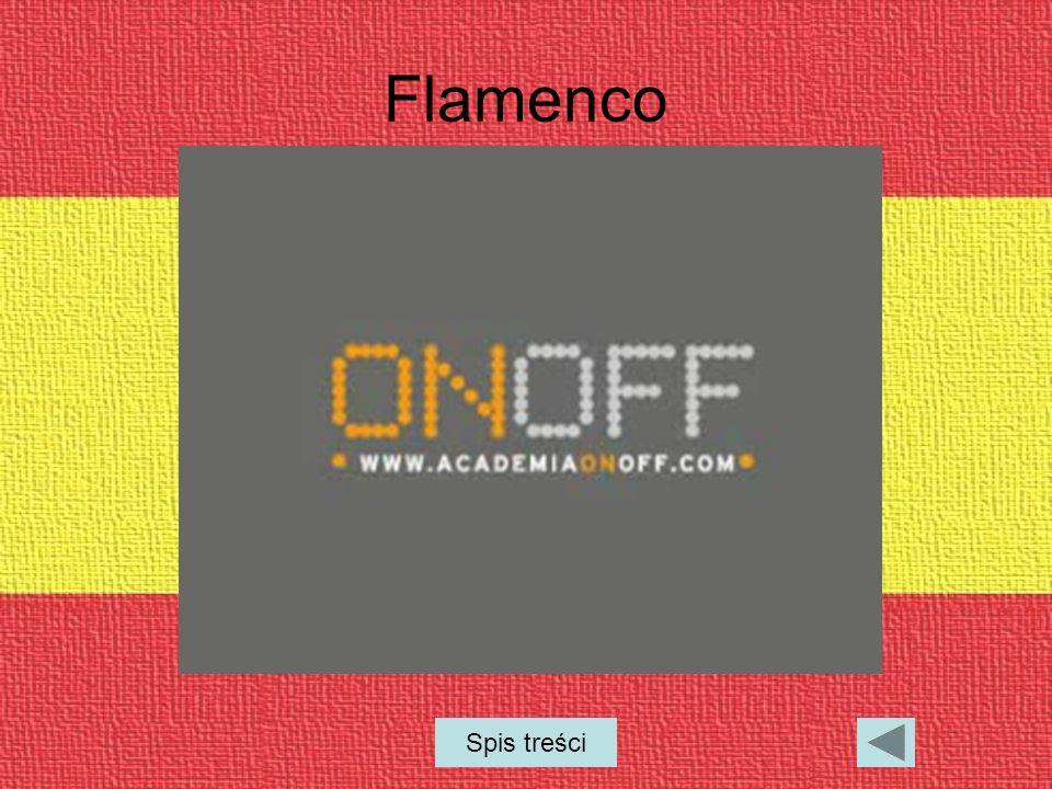 Flamenco Spis treści