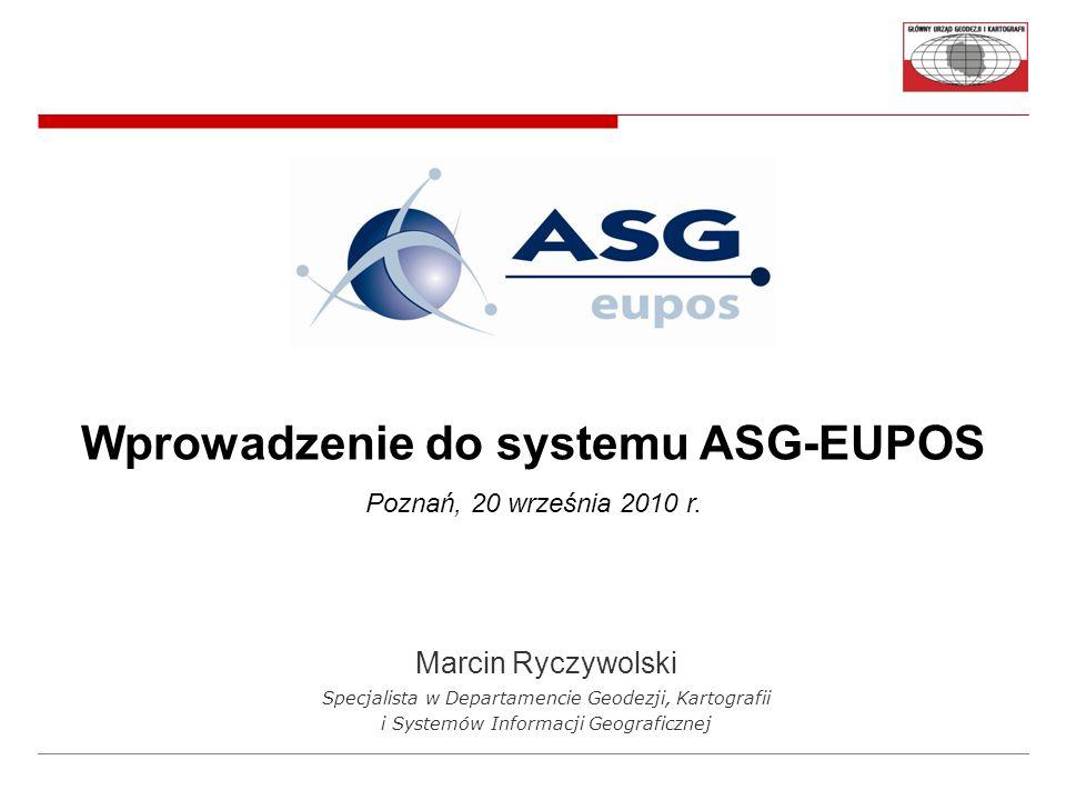 Wprowadzenie do systemu ASG-EUPOS