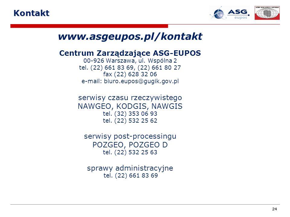 Centrum Zarządzające ASG-EUPOS