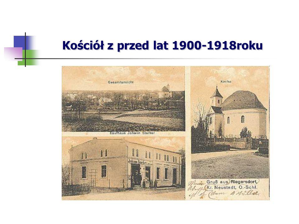 Kościół z przed lat 1900-1918roku