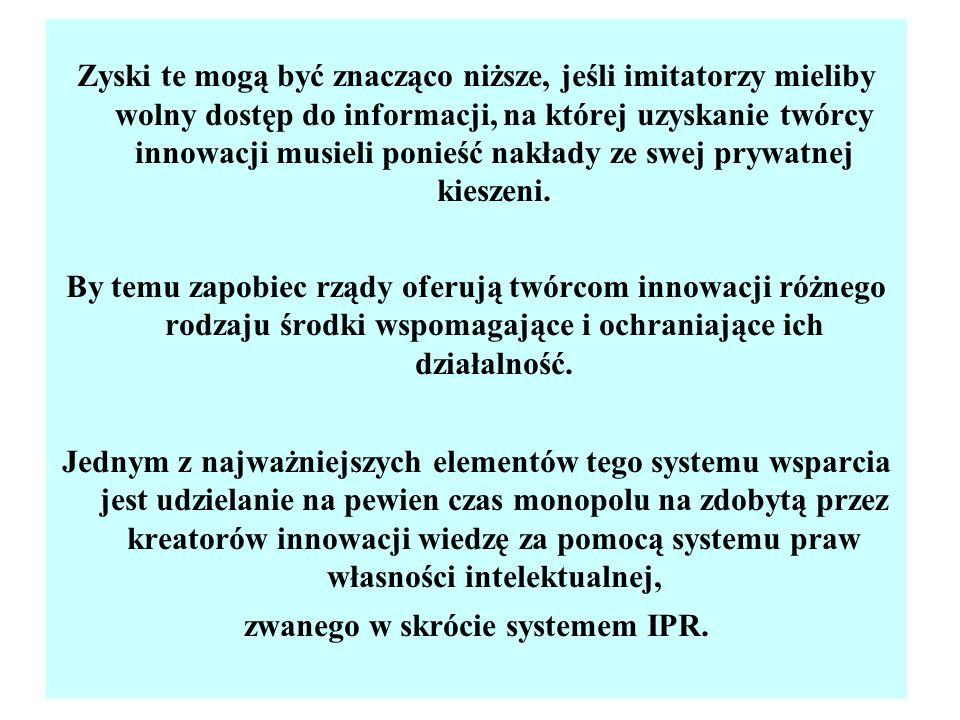 zwanego w skrócie systemem IPR.