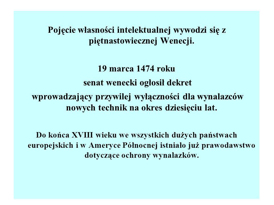 senat wenecki ogłosił dekret
