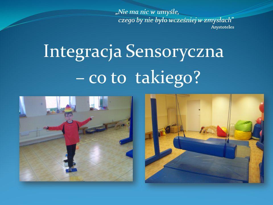 Integracja Sensoryczna – co to takiego